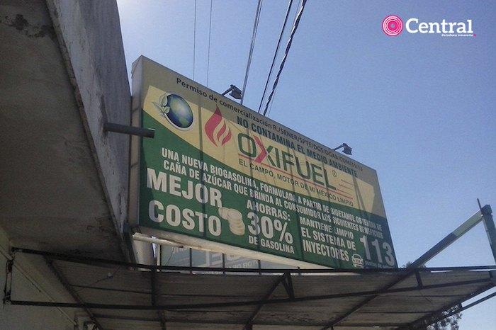 La empresa de gasolin de caña Oxifuel es originaria de Orizaba, Veracruz. Foto: Periódico Central.