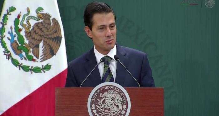 El Presidente Enrique Peña Nieto. Foto: Presidencia México.