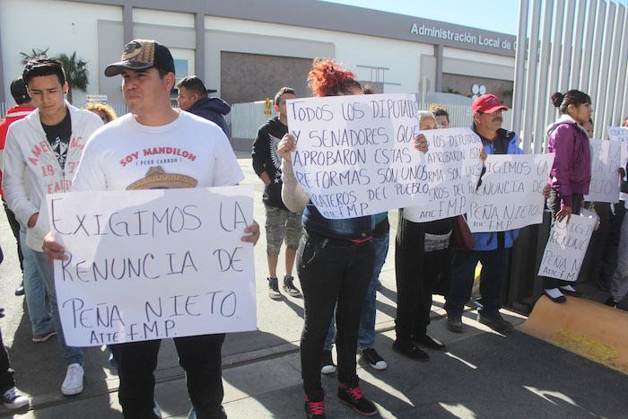 Este viernes sumaron nueve días de protestas que se han replicado en casi todo el país en contra del gasolinazo. Foto: Cuartoscuro