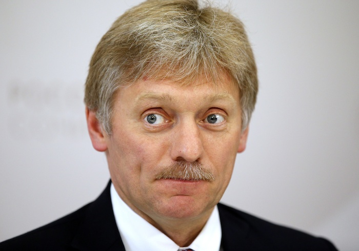 El secretario de prensa del presidente ruso Vladimir Putin, Dmitry Peskov. Foto: AP