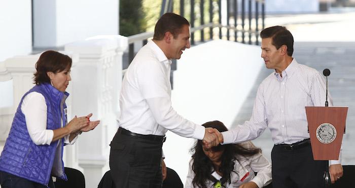 Moreno Valle no hizo mención alguna de la enorme deuda con la que deja a sus gobernados. Foto: Cuartoscuro