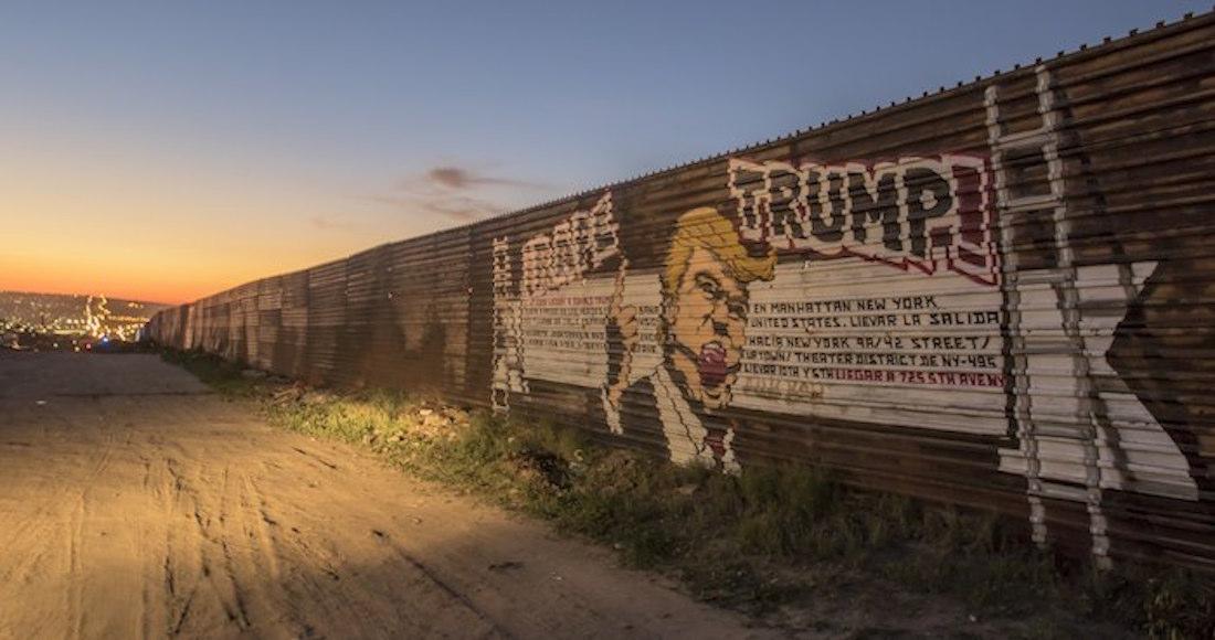Resultado de imagen para muro de donald trump