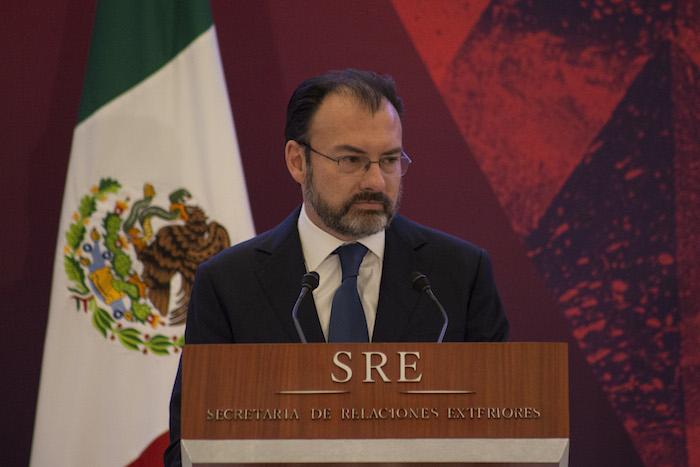 Luis Videgaray Caso, Secretario de Relaciones Exteriores. Foto: Cuartoscuro