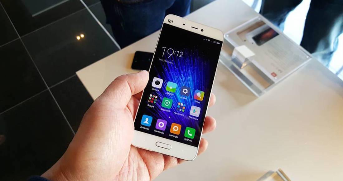 Equipo Xiaomi Mi5S. Foto: Especial.