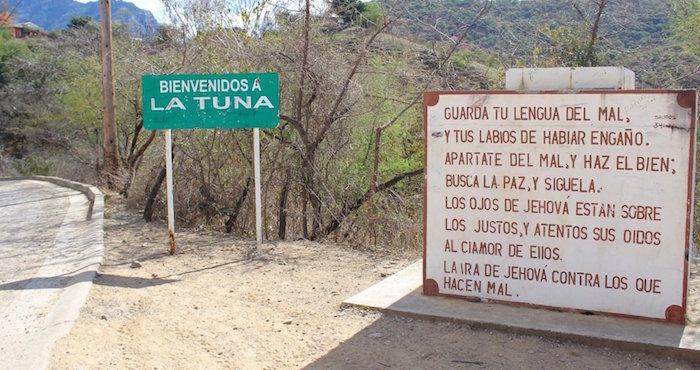 Crónica El Camino Para Llegar A La Tuna Cuna De El Chapo