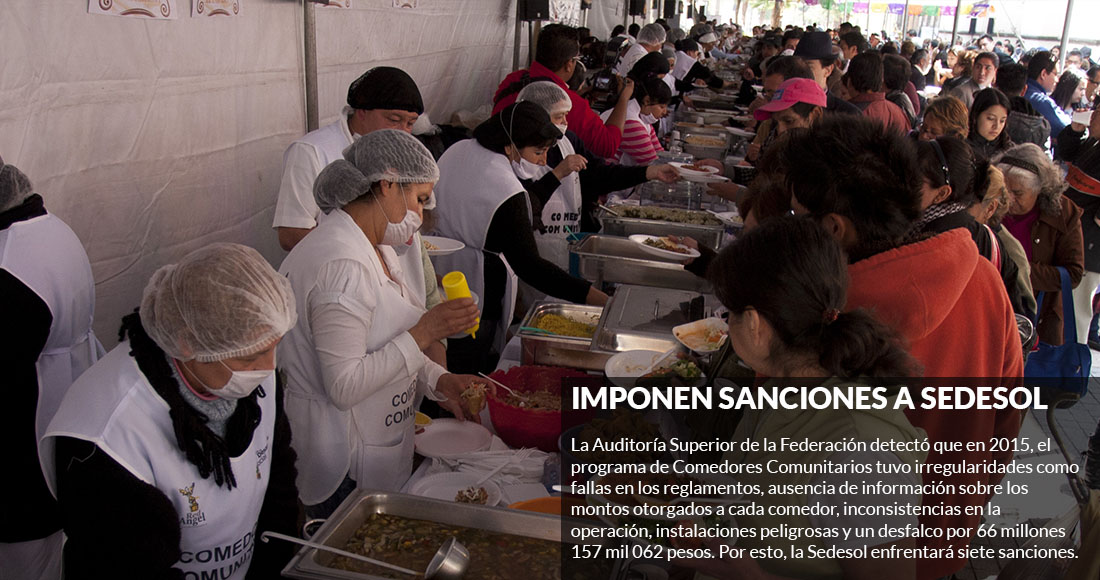 Comederos De Sedesol Dan Dieta Que No Nutre Sinembargo Mx
