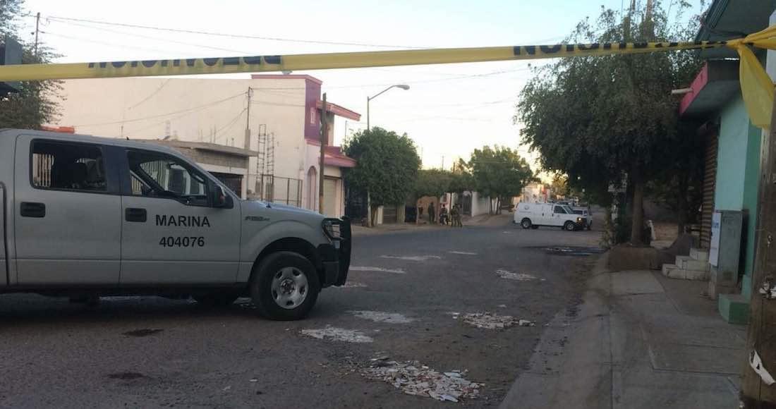 Militares y presuntos delincuentes se enfrentan en Culiacán