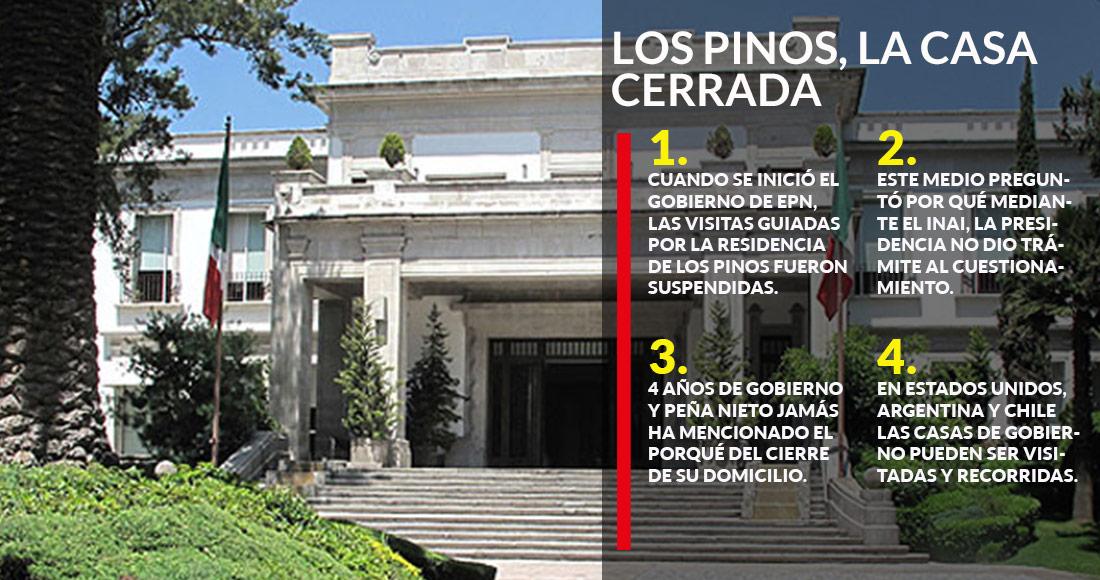 Datoscerrados por qu los pinos se cerr a mexicanos con epn presidencia no da razones - Casa los pinos ...