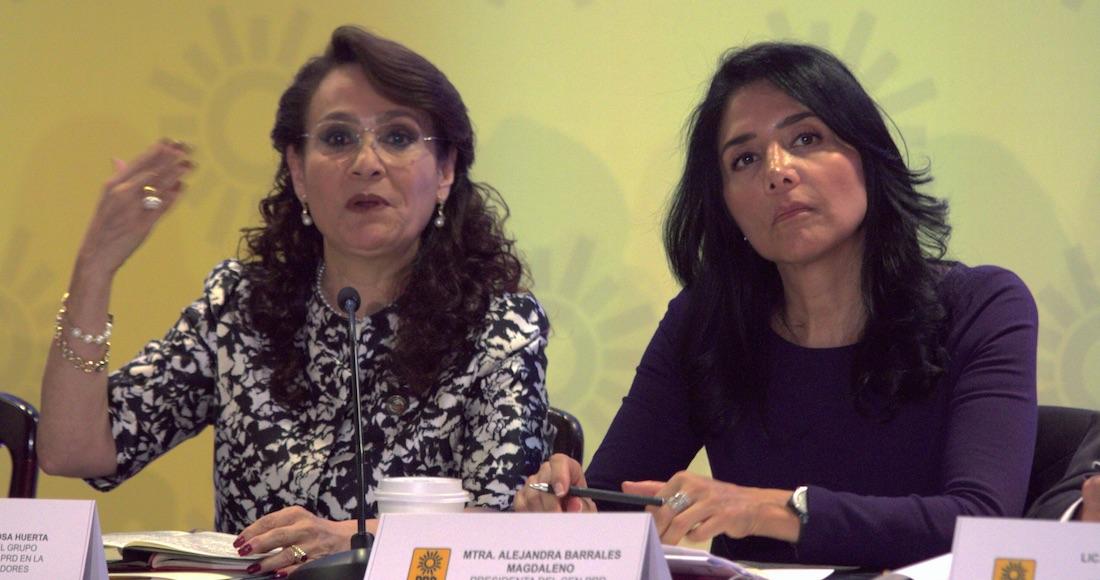 Resultado de imagen para Dolores Padierna  Y ALEJANDRA BARRALES