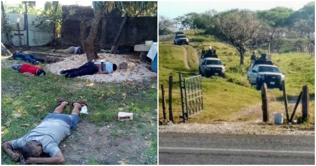 ADEMÁS  Y en el Veracruz violento… matan a cinco en Coatzacoalcos y hallan a 12 en fosa de Alvarado