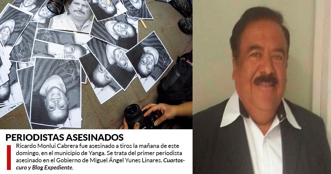 Saque a mi familia de Veracruz, gobernador: viuda de periodista