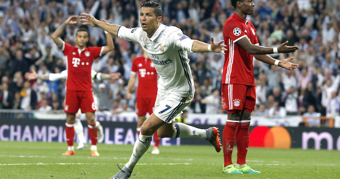 Real Madrid avanza a semifinales de la Champions