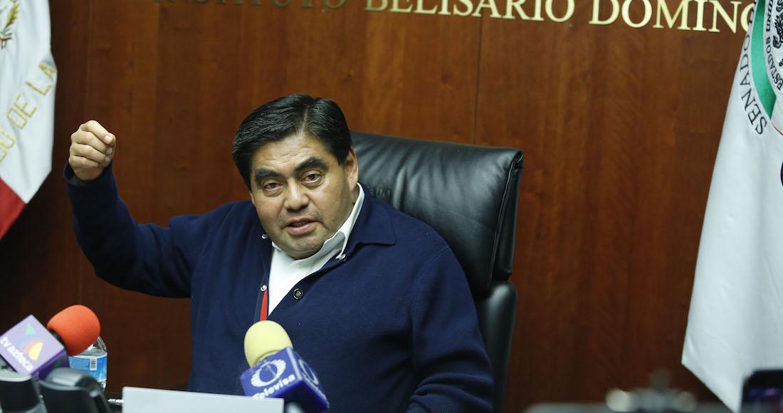 Resultado de imagen para Luis Miguel Barbosa Huerta, senador del PT-Morena.