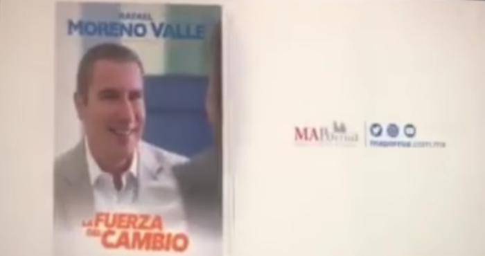 Libro de Moreno Valle genera polémica editorial