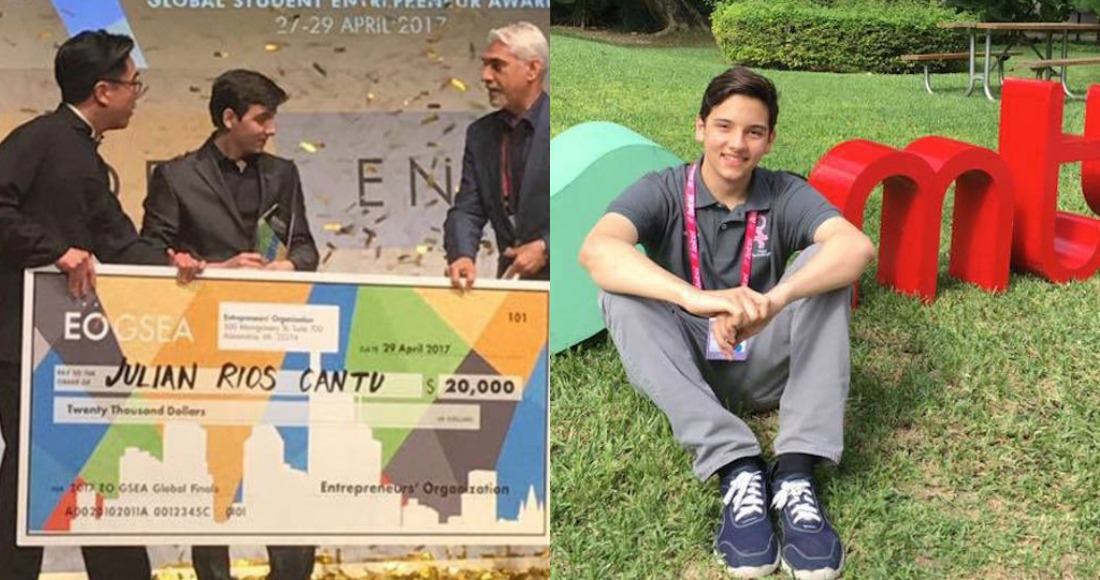 Joven mexicano gana premio por proyecto para prevenir cáncer de mama