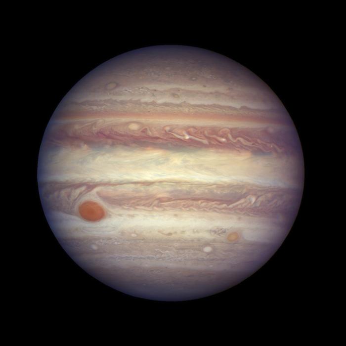 Hallan segunda gran mancha en Júpiter