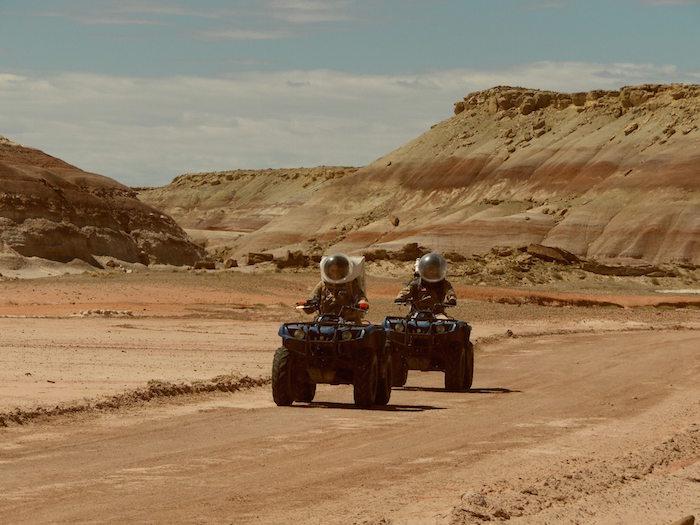 Yair Piña viaja a desierto para practicar simulacro de misión en Marte