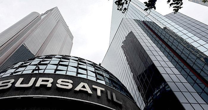 Bolsa Mexicana pierde 0.97 por ciento después de datos globales