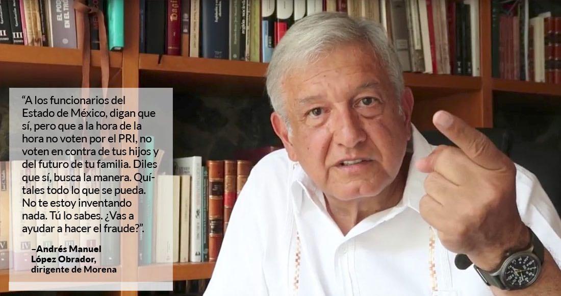 Osorio Chong reprueba agresión contra López Obrador