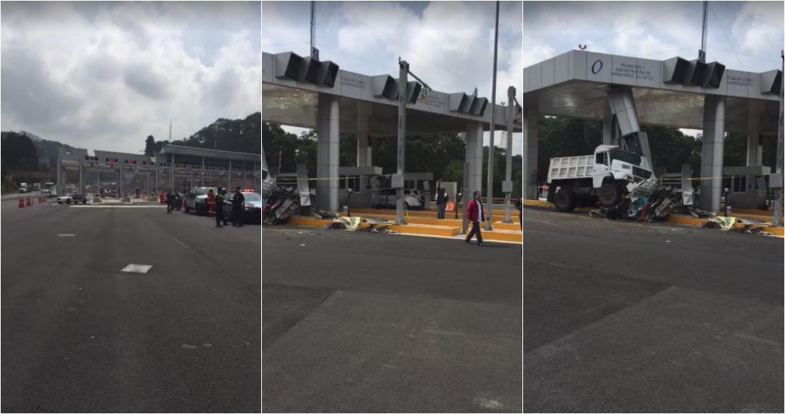 Choque en autopista Lerma-La Marquesa deja 4 muertos