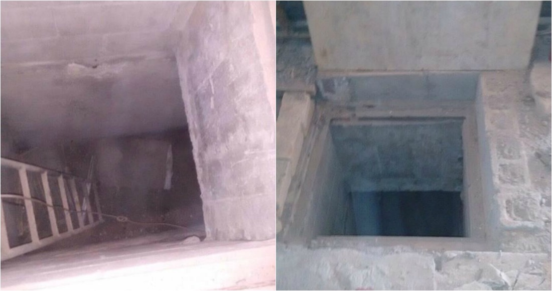 Descubren túnel dentro del penal de Reynosa