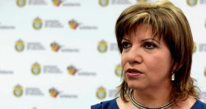 Detienen a Gina Domínguez, ex funcionaria de Duarte