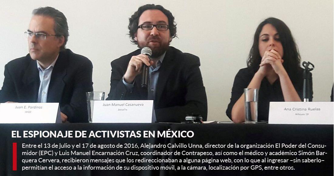 Por espionaje ONGs abandonan alianza con gobierno de México