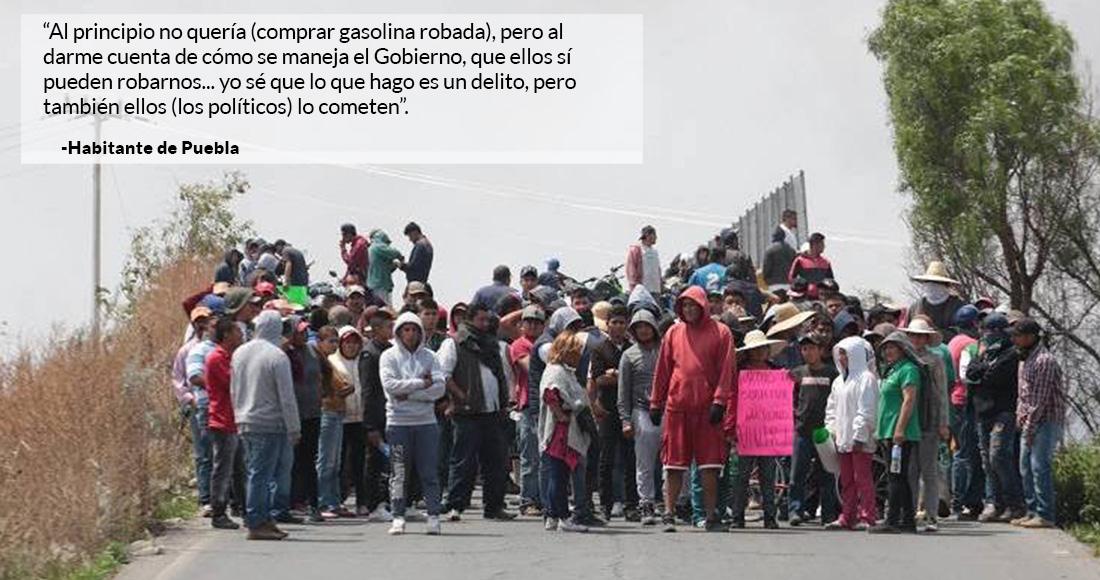 Dos mil militares para robo de gasolina en Puebla