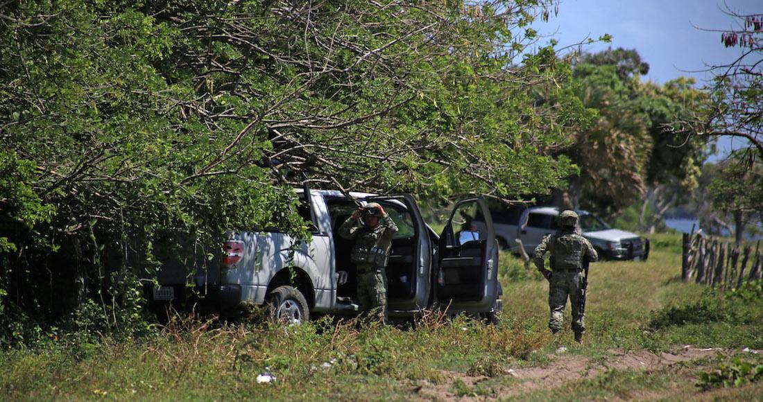 Hallan cinco cuerpos decapitados en el oriente de México