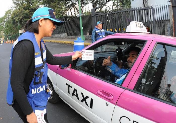 Ciudad Universitaria restringe entrada a taxis