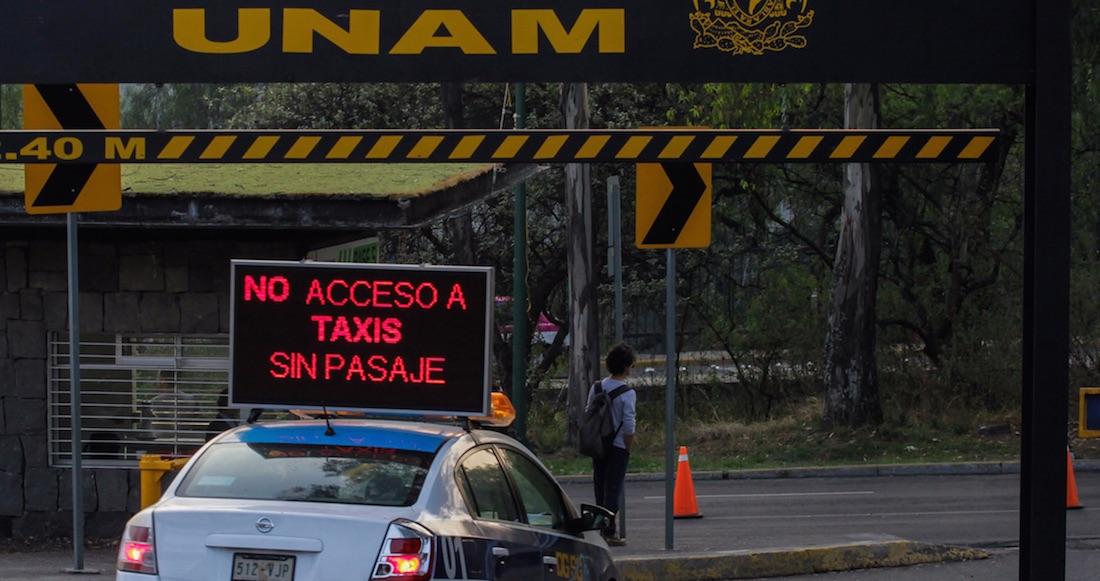 Mantienen operativo de seguridad en accesos de CU