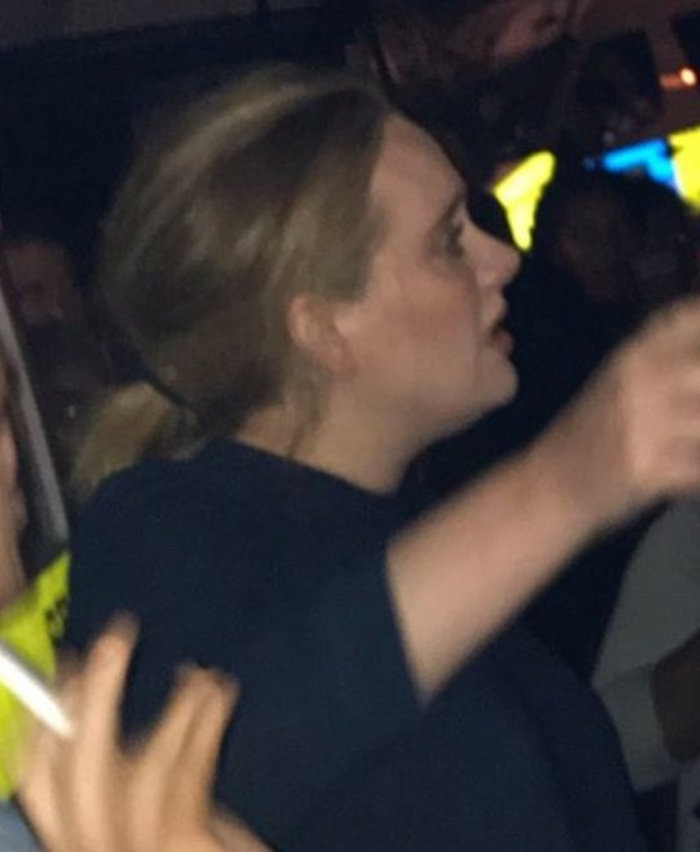La exitosa estrella británica Adele se acercó hasta las inmediaciones de la Torre Grenfell