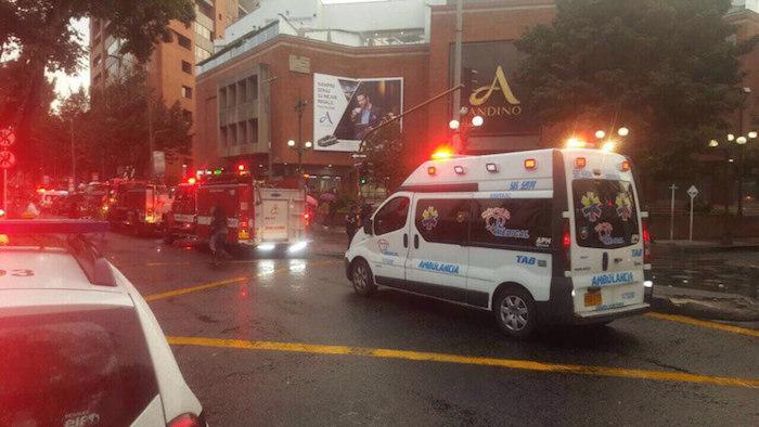 Tres muertos por ataque terrorista en centro comercial de Bogotá