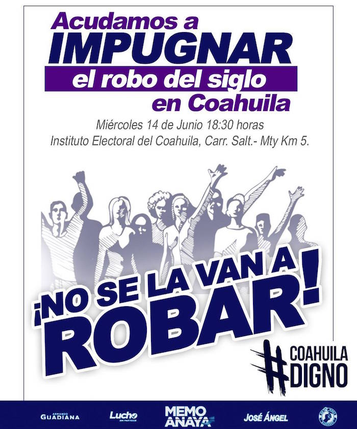 IEC declara a Miguel Riquelme gobernador electo de Coahuila