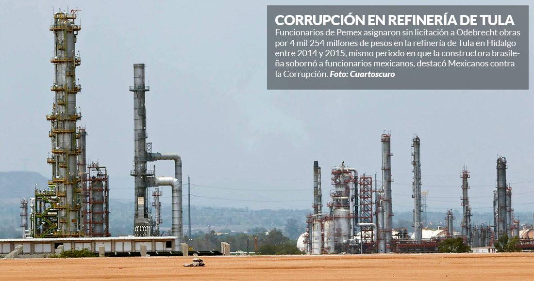 Volcadura en refinería de Oaxaca deja un muerto