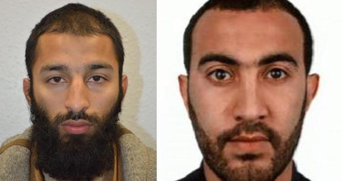 Identifican a dos de los autores del ataque en Londres