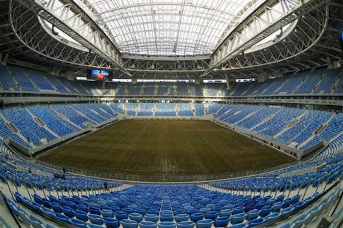 Escaso público en la inauguración del torneo — Copa Confederaciones
