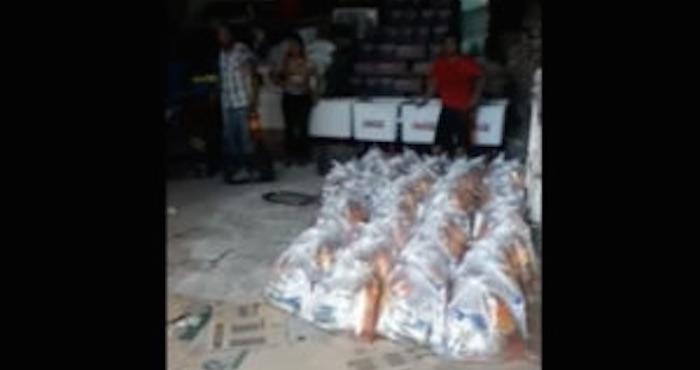 Hallan bodega con miles de despensas del PAN-PRD en Veracruz