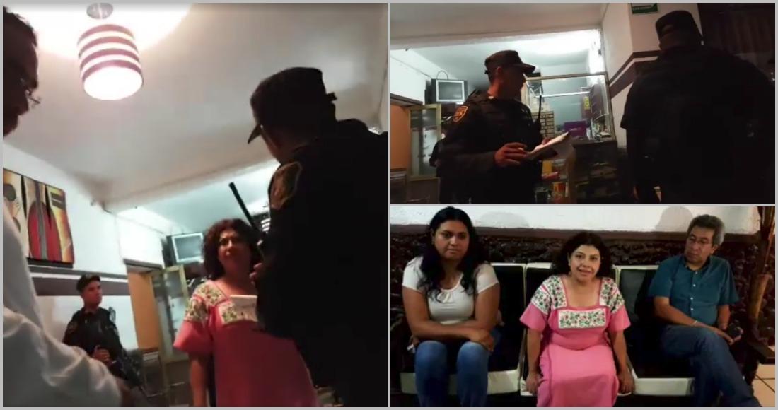 Policía Estatal irrumpe en hotel donde se hospedan militantes de Morena Edomex