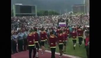 Al menos 30 mil venezolanos reciben a la Selección Sub 20 tras ser  subcampeones b3d172ad96a