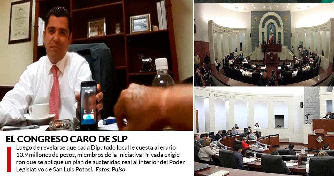 Solicitará PGJE San Luis Potosí juicio de procedencia contra diputado Enrique Flores