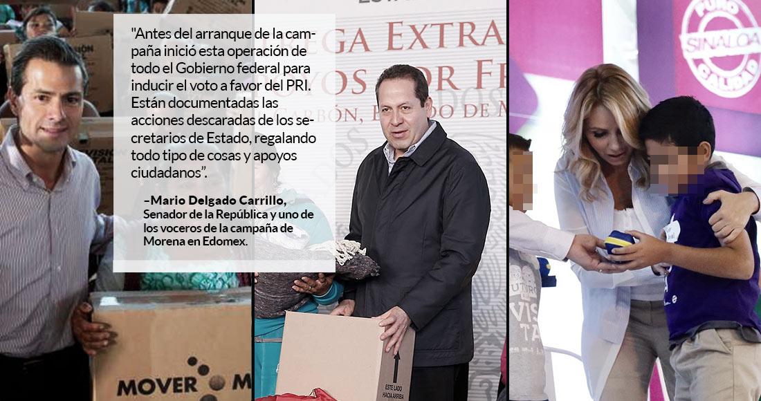 Por actos anticipados de campaña, Delfina Gómez será sancionada con 1.3 mdp