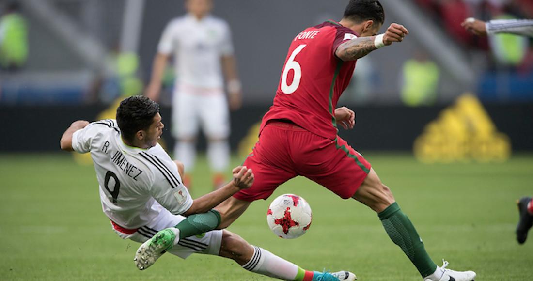 México logró un agónico empate frente a Portugal