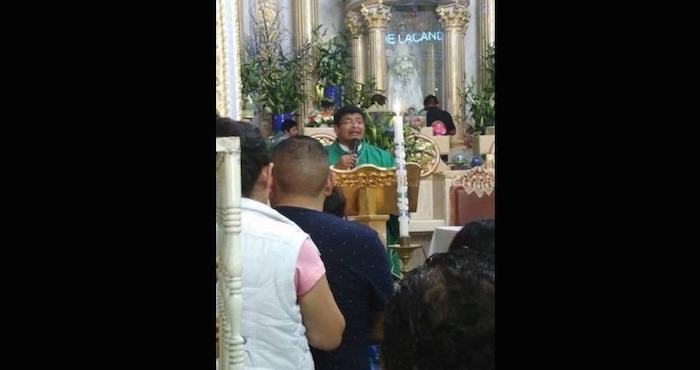 Falso sacerdote es detenido en Huehuetlan El Grande
