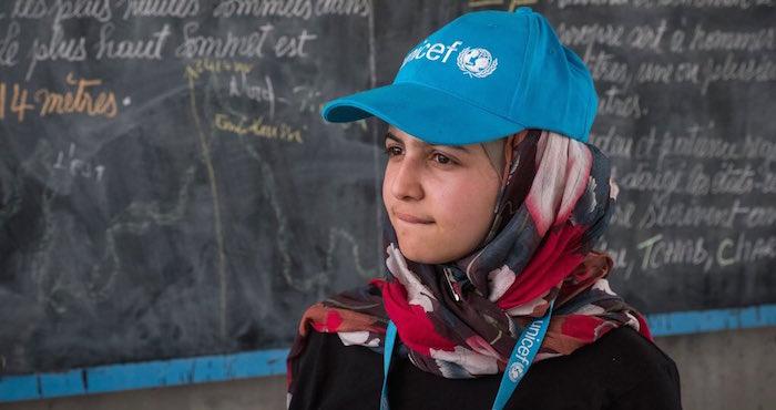 UNICEF nombra por primera vez embajadora a una refugiada