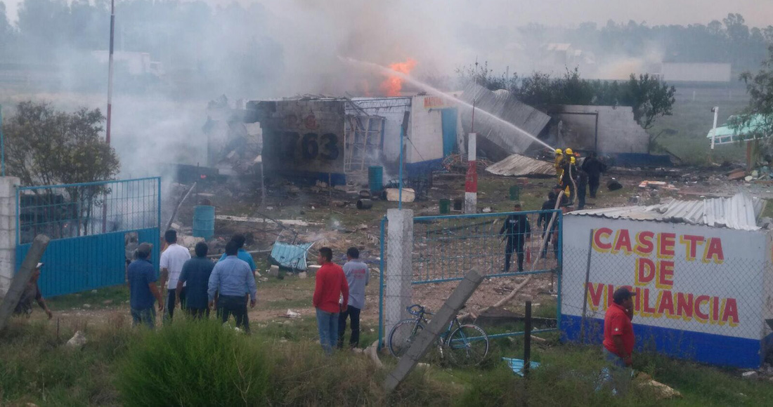 Video Estalla polvorín en Zumpango, Estado de México; reportan varios heridos