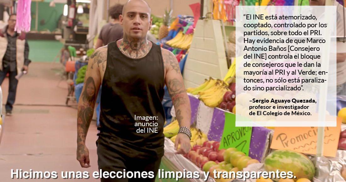 ADEMÁS  El INE es un peligro para México insiste Aguayo y los consejeros actuales deben irse antes de 2018