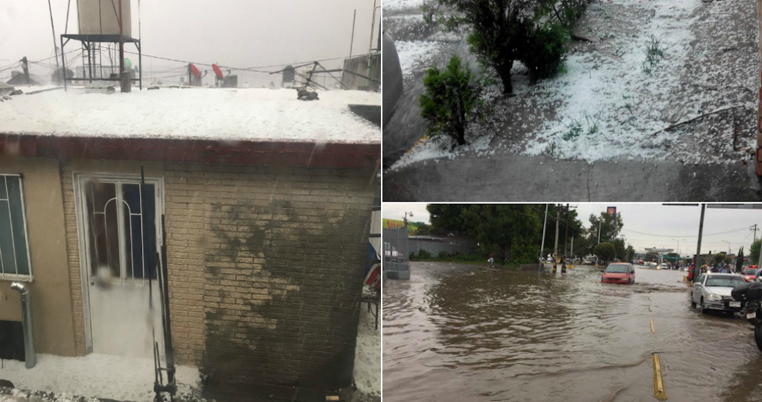 Tultitlán se inunda y presenta daños por lluvias — MÉXICO