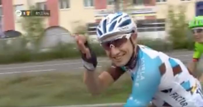 Original propuesta de matrimonio en el Tour de Francia
