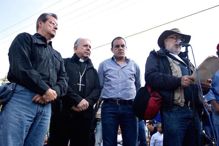 Marcha contra Graco Ramírez parte de Morelos a la CDMX